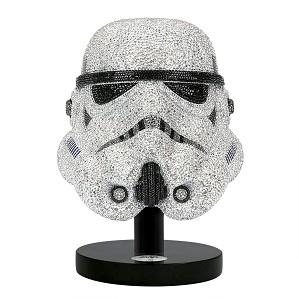 Swarovski Crystal-Myriad Star Wars Stormtrooper Helmet