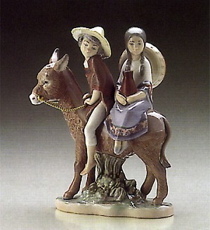 Lladro-Ride In The Country 1986-93