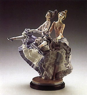 Lladro-Can Can