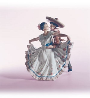 Retired Lladro-Mexican Dancers