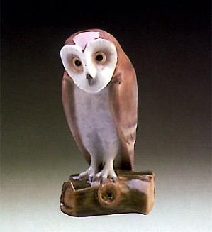 Lladro-Barn Owl 1987-90