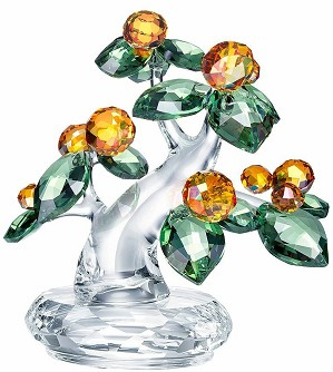 Swarovski Crystal-Kumquat Tree
