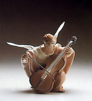 Lladro-Heavenly Cello 1988-93