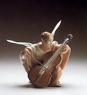 Lladro-Heavenly Cello 1988-93