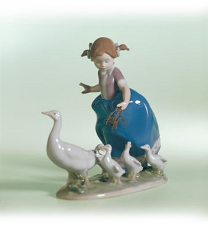 Retired Lladro-Hurry Now