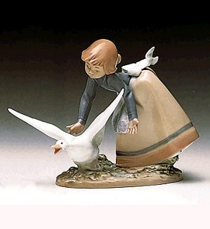 Lladro-Wild Goose Chase 1989-97