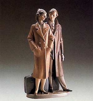 Lladro-Sad Parting 1989-91