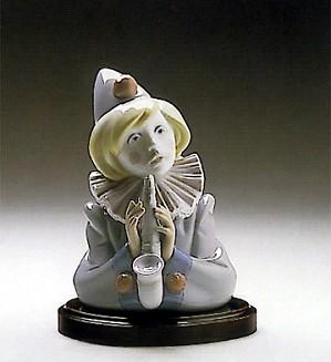 Lladro-Sad Note Clown 1989-93