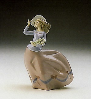 Lladro-Spring Breeze 1989-93