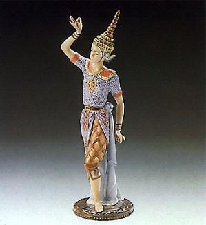 Lladro-Male Siamese Dancer 1989-93