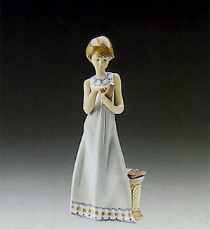 Lladro-Calling A Friend 1989-97