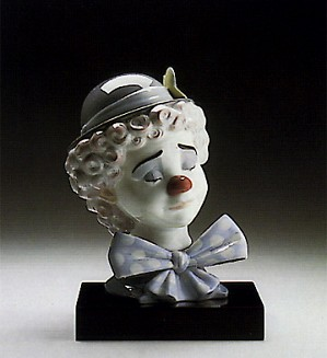 Lladro-Sad Clown