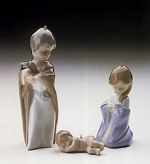 Lladro-Mini Holy Family 1989-89