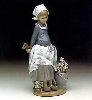 Lladro-Little Dutch Gardner
