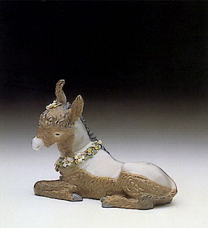 Lladro-Beautiful Burro 1990-93