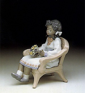 Lladro-Sitting Pretty 1990-98