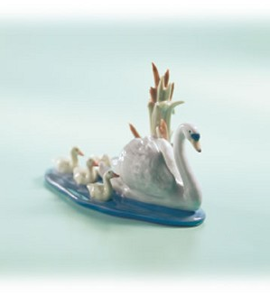 Retired Lladro-Follow Me 1990-04