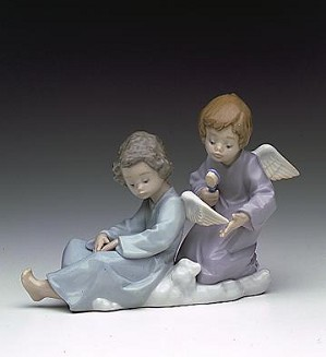 Lladro-Angel Care 1990-2000