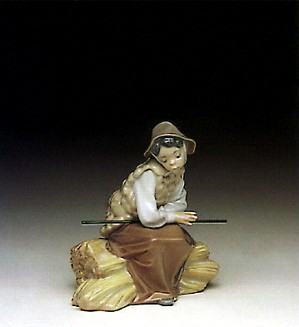 Lladro-Old Shepherdess 1991-96