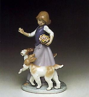 Lladro-Dog Romp 1991-95