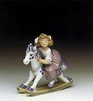 Lladro-Faithful Steed 1991-94