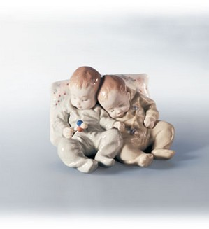 Retired Lladro-Little Dreamers