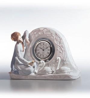 Lladro-Swan Clock 1991-02