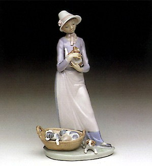 Lladro-My Puppy 1991-93