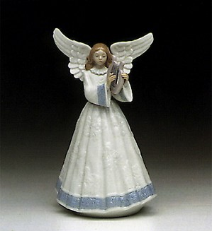 Lladro-Heavenly Harpist 1991 Only