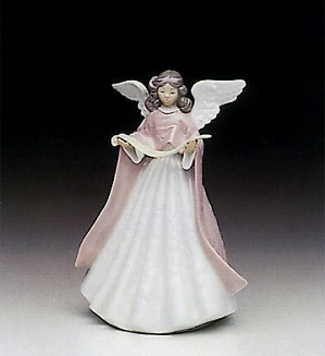 Lladro-Tree Topper (Pink)