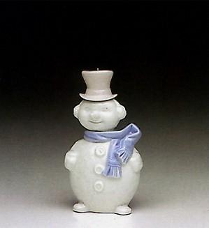 Lladro-Snowman Ornament 1991-93