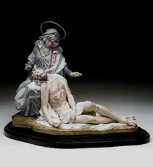 Lladro-Sorrowful Mother Le 1500  1992-99