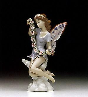 Lladro-Fairy Garland