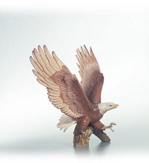 Lladro-Justice Eagle Le1500 1992-C