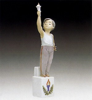 Lladro-Olympic Torch 1992-94 ***