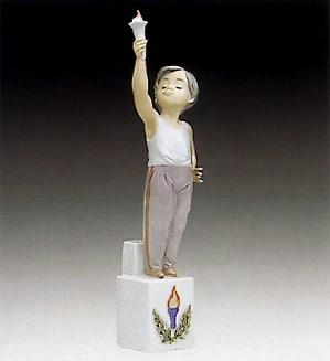 Lladro-Olympic Torch 1992-94 ***