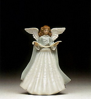 Lladro-Tree Topper (Green) 1992 Only
