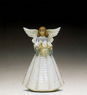 Lladro-Angelic Cymbalist 1992 Only