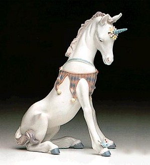 Lladro-Playful Unicorn 1992-98