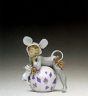 Lladro-Mischevious Mouse 1992-98