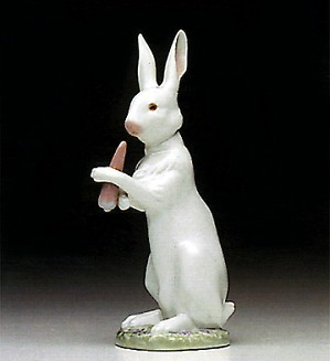 Lladro-Snack Time Rabbit 1992-95