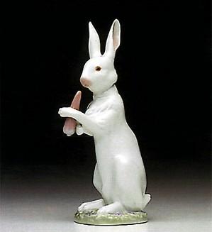 Lladro-Snack Time Rabbit 1992-95