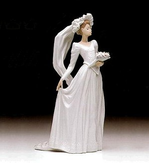 Retired Lladro-Down The Aisle 1992-96