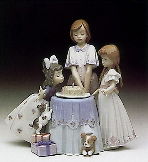 Lladro-Make A Wish 1992-98