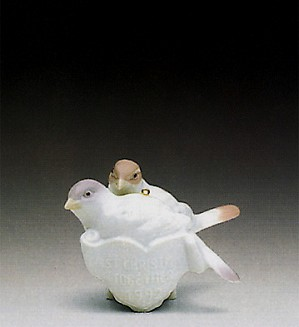 Lladro-Our First Christmas 1992 Ornament