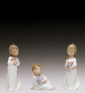 Lladro-Christmas Morning 1992