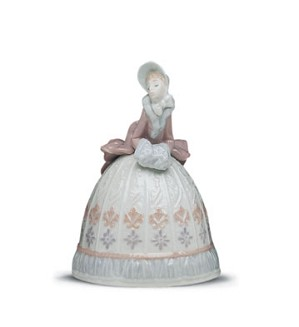 Retired Lladro-Sounds Of Winter