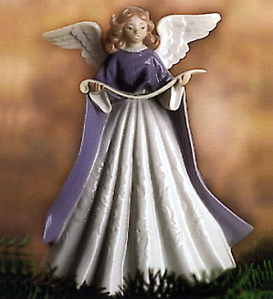 Lladro-Tree Topper (Blue)