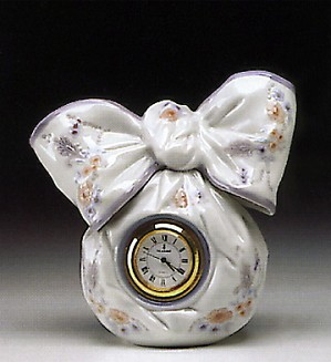 Lladro-Bow Clock 1993-00