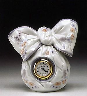 Lladro-Bow Clock 1993-00